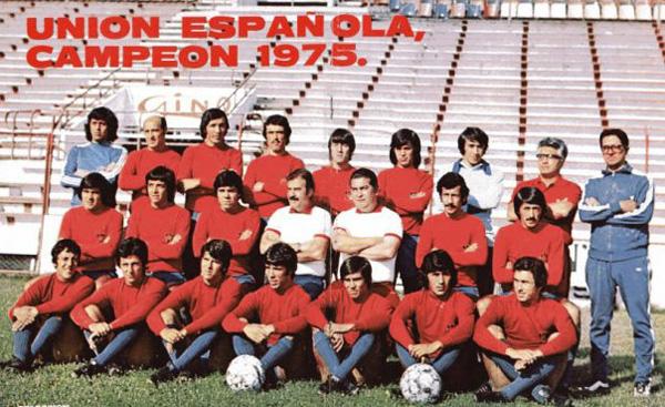 Resultado de imagen para 1975 Union Española Sub Campeón de la Copa Libertadores de América